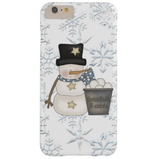 Snowman iPhone 6 plus barely there case