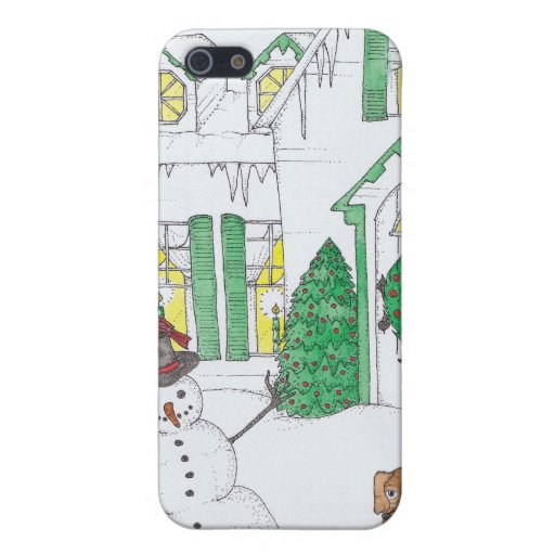 Snowman iPhone Case Case For iPhone 5
