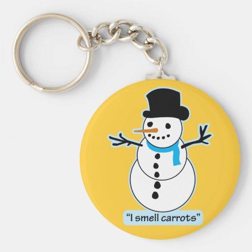 snowman key chains