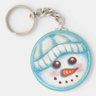 Snowman Keychain