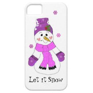 Snowman Let it Snow iPhone SE/5/5s Case