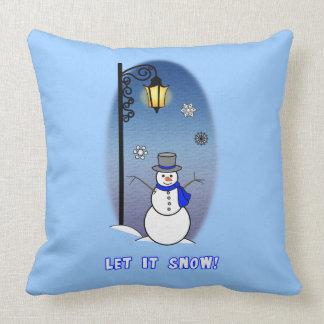 Snowman: Let it Snow! Pillows
