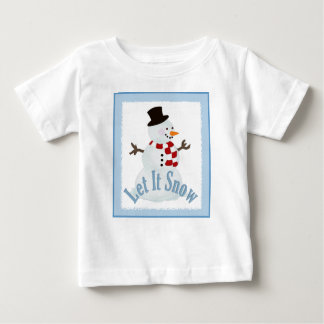 Snowman: Let It Snow Tshirt
