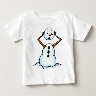 snowman losing head t shirt