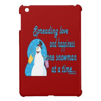 Snowman Love iPad Mini Case