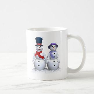 Snowman Love Mugs