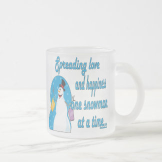 Snowman Love Mug Coffee Mug