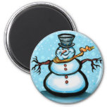Snowman Magnets