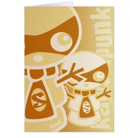 Snowman Mascot Card