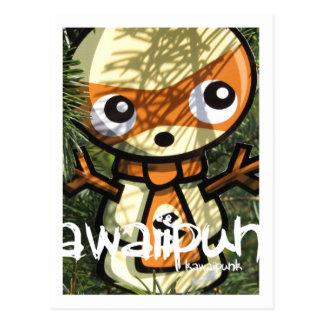 Snowman Mascot Postcards