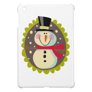 SNOWMAN MEDALLION CASE FOR THE iPad MINI