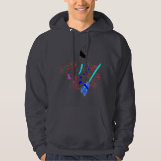 SNOWMAN MELTED HOODIE