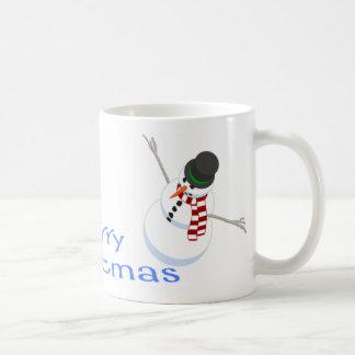 Snowman Merry Christmas Mug