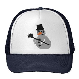 Snowman Mesh Hat