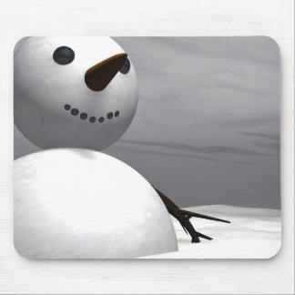 Snowman Mouse Mats