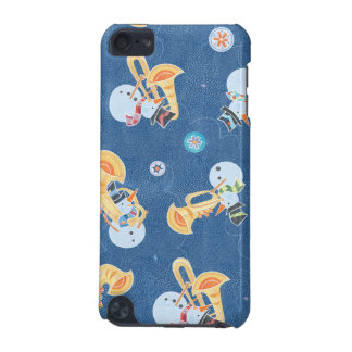 Snowman Musicians Making Christmas Holiday Music iPod Touch 5G Case