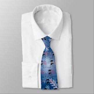 Snowman Neck Tie