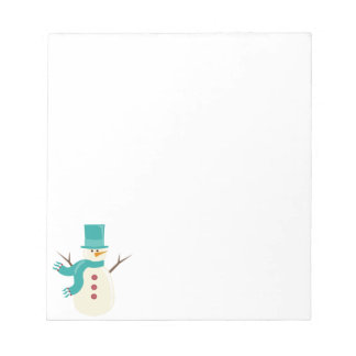 Snowman Notepads