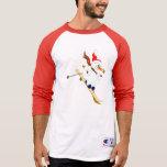 Snowman On Skis T Shirts