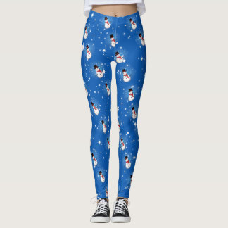 Snowman on (your color) leggings