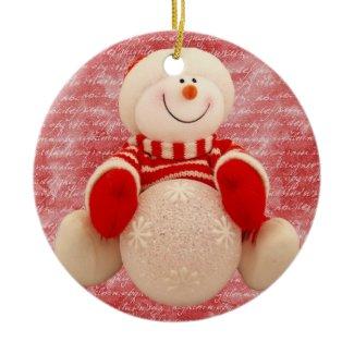 snowman ornament ornament