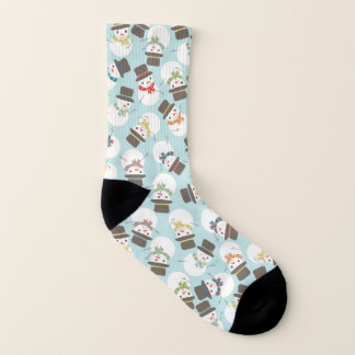 Snowman Party Socks