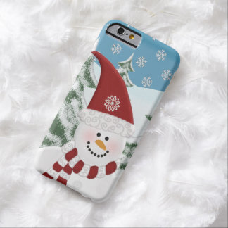 Snowman Personalized: iPhone 6 case