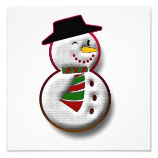 Snowman Photo Print