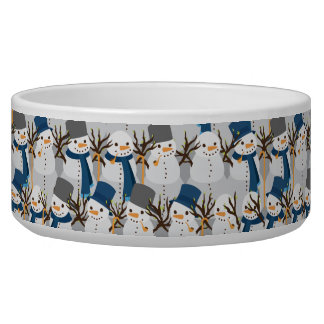 Snowman Pile Bowl