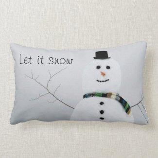 Snowman Pillow