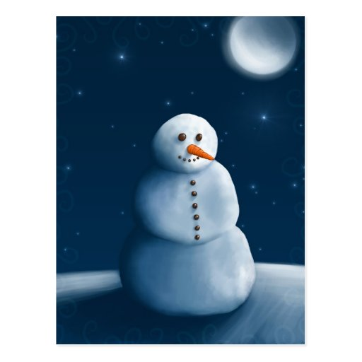 Snowman Post Cards