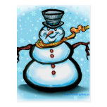 Snowman Post Cards