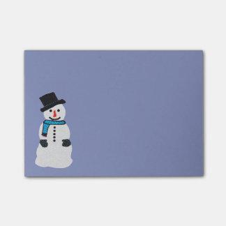 Snowman Post-it® Notes