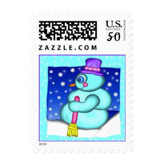 Snowman Postage