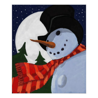 SNOWMAN POSTERS