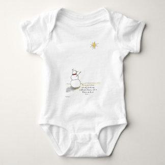 Snowman Praises (Color) T-shirt