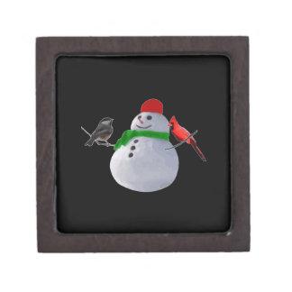 Snowman Premium Gift Box