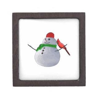 Snowman Premium Keepsake Boxes