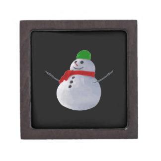 Snowman Premium Trinket Boxes