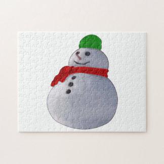 Snowman Puzzle