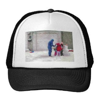 Snowman - Reconstructive Surgery Mesh Hats
