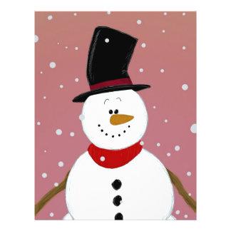Snowman - Red Flyer Design