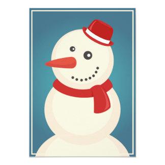 Snowman & Reindeer Card