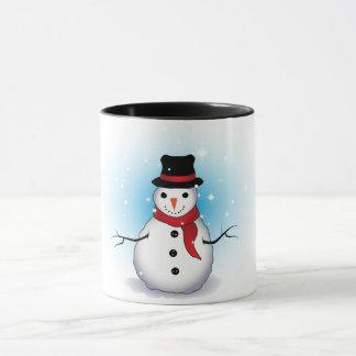 Snowman Ringer Combo Mug