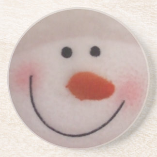 Snowman Sandstone Coaster