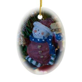 Snowman Santa Ornament ornament