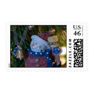 Snowman Santa Postage