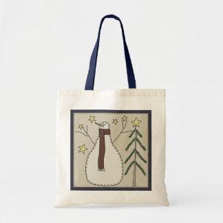Snowman Scene Gift Bag