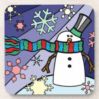 Snowman Scenery Coaster