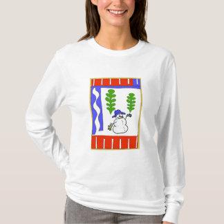 Snowman Season's Greetings T-Shirt
